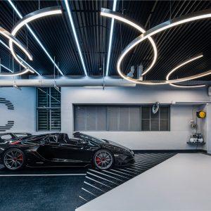 OFT设计丨车库3.0时代:跑车博物馆x社交场景