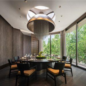 梵池设计 | 陆朝·临江台餐厅