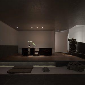 构造空间设计|山海精典茶室