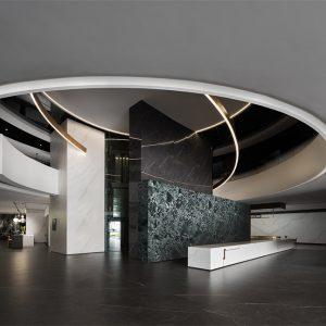 拓维设计 金牌亚洲OSSO岩板展厅