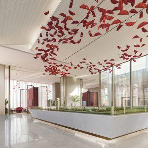 GLC上海联思设计 | 绿地郎峯售楼中心
