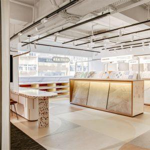 OFT设计 ASA瓷砖展厅