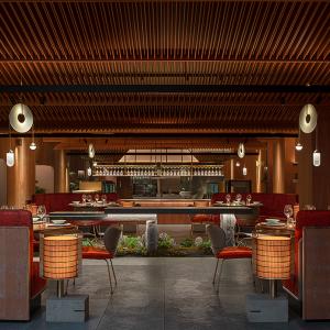 HDC蜂鸟设计|柴门荟餐厅