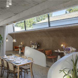 阿穆隆设计 | 右蔦乡村庭院餐厅